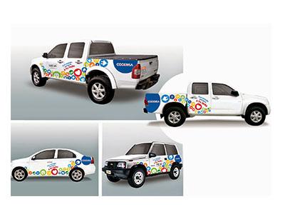 publicidad carros vehiculos empresariales movil bogota vinilos exteriores