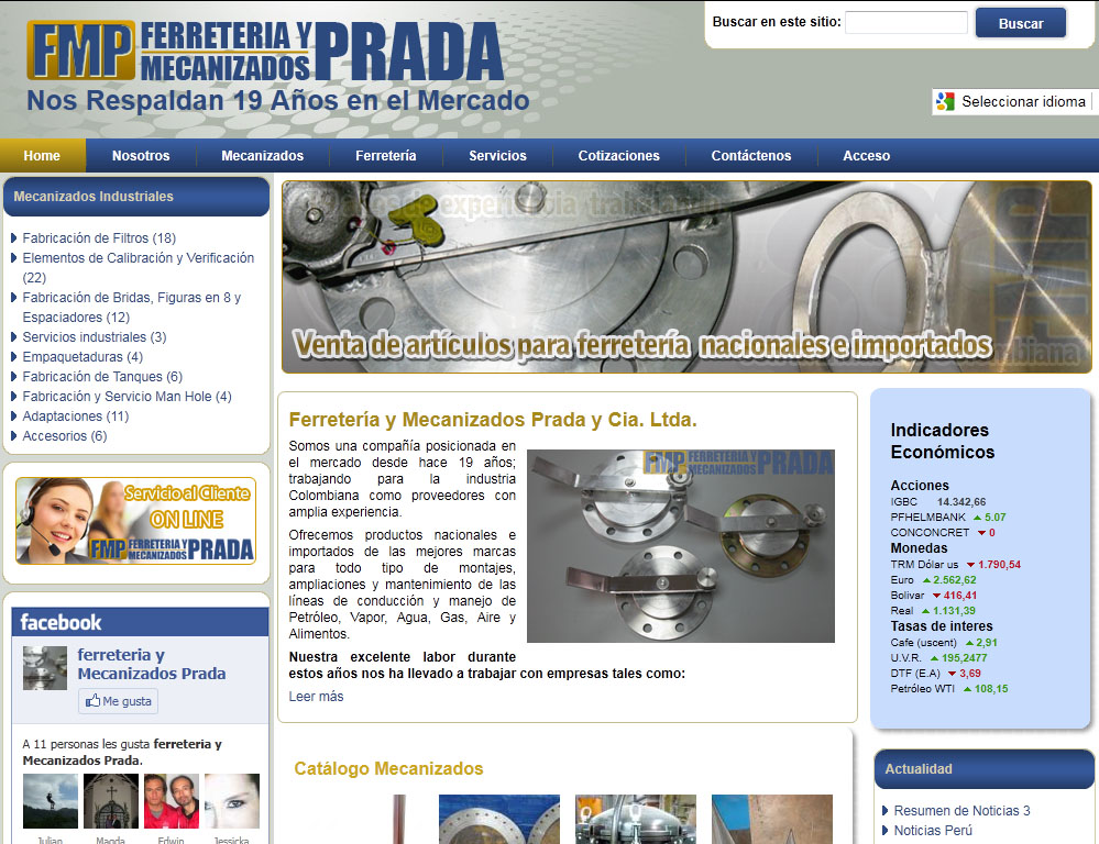 Fabricación FILTROS Bogotá hidrocarburos gases fluidos líquidos