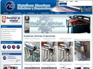Metalicas Merchan maquinas selladoras empacadoras electronicas